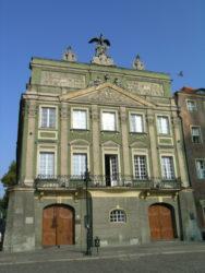 Vista del interesante palacio de Dzialynski que también vemos en la zona de la plaza del mercado.