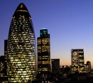 Una estampa del Londres vanguardista y moderno, que también tiene su encanto.