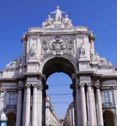 Plazas de la ciudad de Lisboa