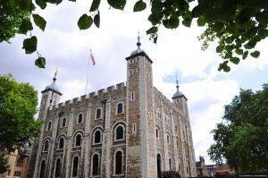 La Torre de Londres fue levantada en época del rey Guillermo I el Conquistador.