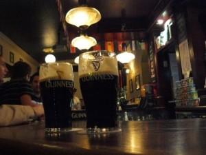La pinta de cerveza es algo muy tradicional en Londres.