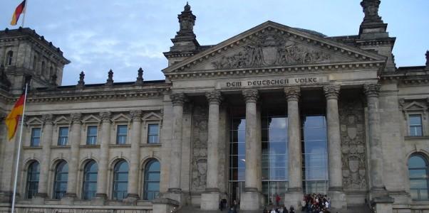 El Reichstag o parlamento alemán
