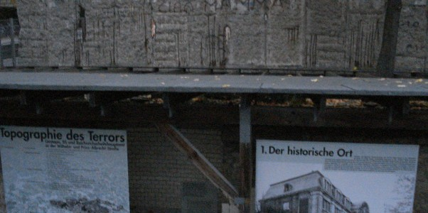 Topograhie Des Terrors en Berlín