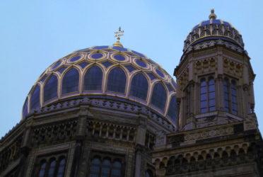 La bella y majestuosa cúpula de la Sinagoga