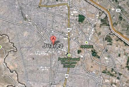 Mapa Satélite de Ciudad Juárez