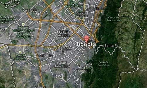 Mapa de Bogotá