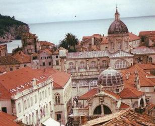 hermosos tejados de la ciudad de Dubrovnik.