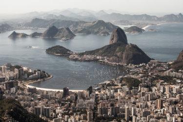 La maravillosa ciudad de Río de Janeiro en Brasil