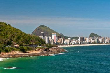 Es un placer disfrutar de la playa de Ipanema, y de los buenos restaurantes y hoteles de esta parte de Río de Janeiro.