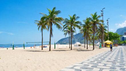 Las bonitas arenas de la Playa de Ipanema