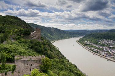 La Selva Negra al este del río Rin