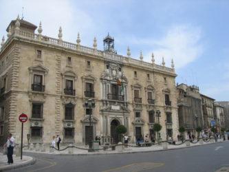 Real Chancillería de Granada, hoy Tribunal Superior de Justicia de Andalucía