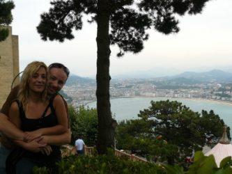 Las vistas que tenemos de San Sebastián desde el Monte Igueldo son preciosas.
