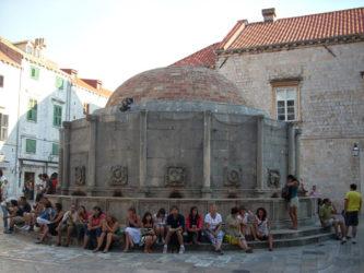 Fuente de Onofrio, sitio ideal para un pequeño descanso