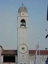 La Torre del Reloj de Dubrovnik.