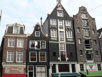 Diferentes tipos de casas de la ciudad de bella factura