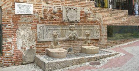 Uno de los hermosos rincones del casco viejo de Almuñecar.