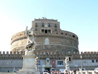 El Castillo de San Angelo a orillas del Tiber