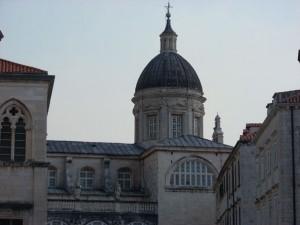 Cúpula de la Catedral Barroca de Dubrovnik