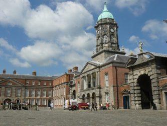 El Castillo de Dublín es un lugar emblemático de la ciudad.