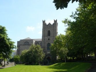 La iglesia de San Audeon es otro punto de interés de Dublín.