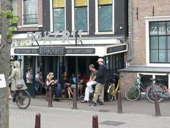 Otro de los muchos coffe shops que hay en Ámsterdam