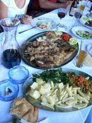Comida típica de la Gastronomía croata