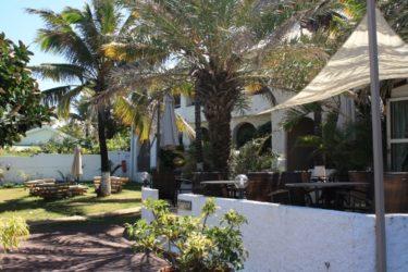Vista del confortable Hotel Le Victoria donde dormimos y disfrutamos como reyes.