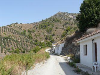 En los alrededores de Peña Escrita hay muchos senderos que recorrer.