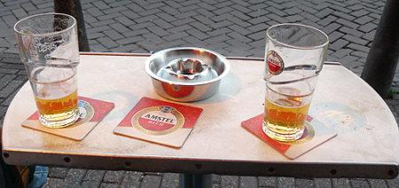 La rica cerveza holandesa es parte fundamental de la gastronomía de Ámsterdam