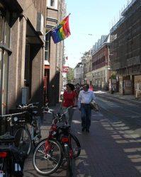 Otro local de Ámsterdam donde se da un ambiente gay