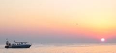 Las puestas de sol en Ibiza son de una belleza impresionante.