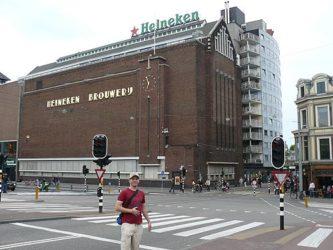 El edificio que acoge el curioso Heineken Experience