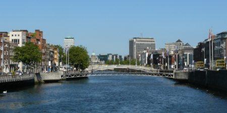 El río Liffey y su desembocadura forman parte de la historia de Dublín.