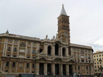 La gran Basílica de Santa María la Mayor