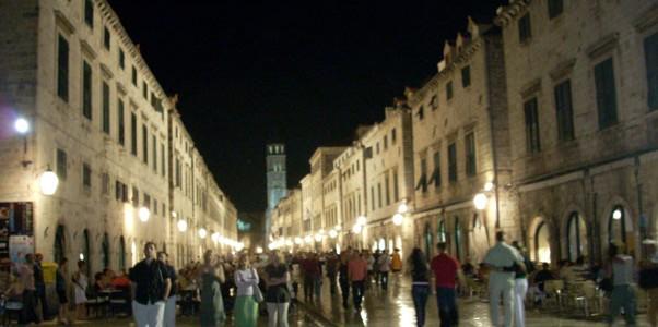 La noche de Dubrovnik