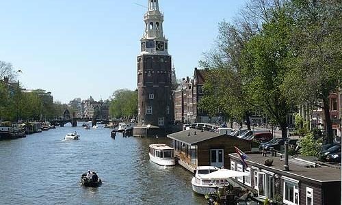 Patinar en los canales helados de Ámsterdam