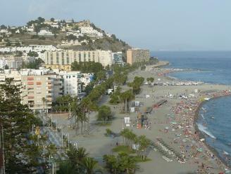 Algunas de las playas y zona de costa del municipio de Almuñecar.