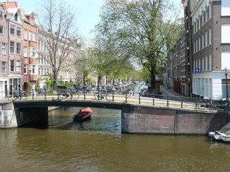Uno de los muchos puentes que se encuentran por la ciudad