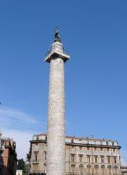 La grandiosa Columna de Trajano de 40 metros de altura