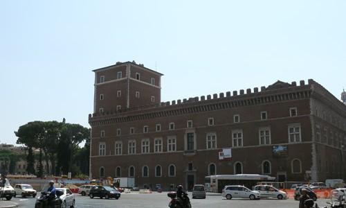Piazza Venezia o de Venecia