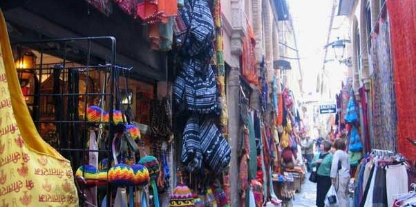 De compras por Granada
