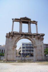 El magnífico arco de Adriano