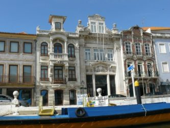 Vista del bonito edificio que alberga el museu da Cidade de Aveiro.