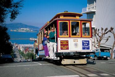 Los tranvías de San Francisco también conocidos como Cable Cars son icono de la ciudad