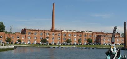 Por el el Cais de Fonte Nova llegamos a la antigua fábrica de cerámica.