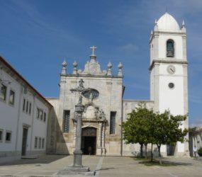 La catedral de Aveiro aunque sencilla es de bella factura.