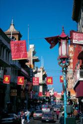 Las calles y distintos rincones nos indican que estamos en Chinatown