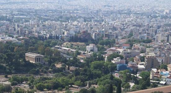 La ciudad de Atenas