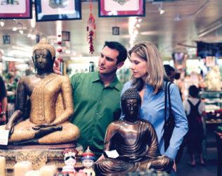 En San Francisco también se pueden realizar compras exóticas